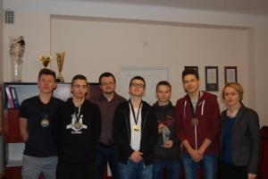 1 miejsce województwo Liga Robotyki 2018/2019